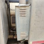 hot water heater cover damage