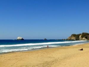 Playa Zipolite beach