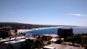 view of the bay in Puerto Escondido