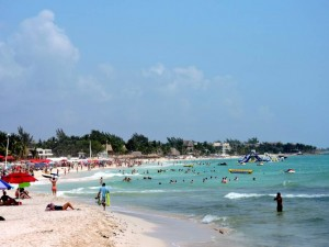 DSCN0200 beach at Playa Del Carmen
