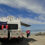 our campsite - Corona Beach