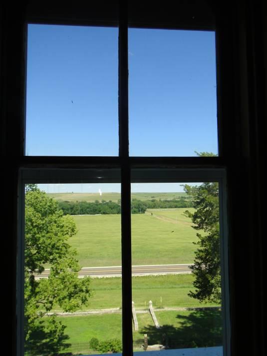Calder escapes picture window for Picture window
