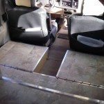 under the floor storage in extended cab