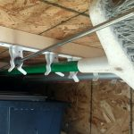 hanging rack in pass thru storage