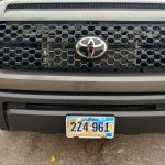 new truck plate