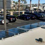 now we have three solar panels